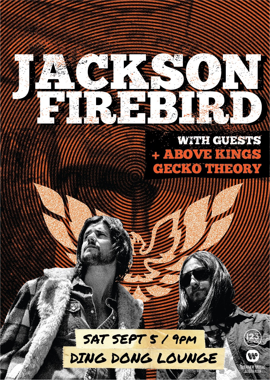 JACKSON FIREBIRD HIT THE DING DONG LOUNGE 5th SEPTEMBER